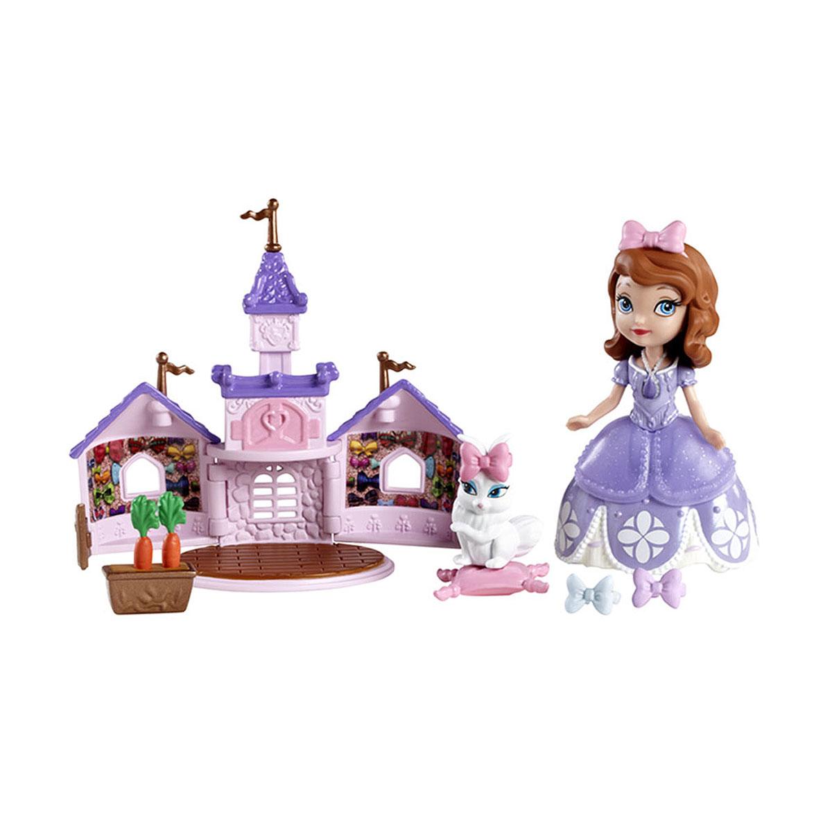 Sofia the First Игровой набор с мини-куклой Принцесса София и кролик Джинджер