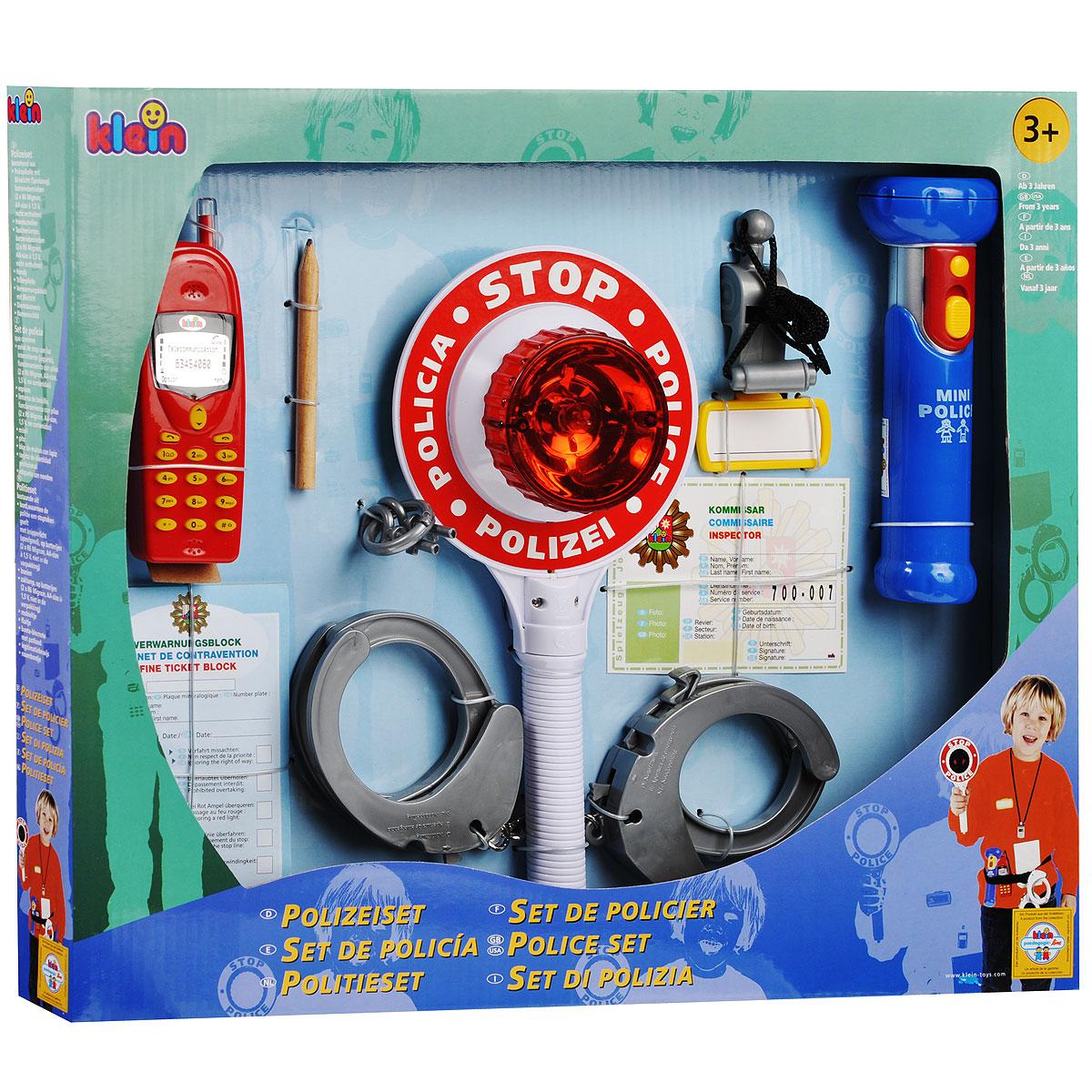"""Игровой набор Klein """"Полицейский"""", 10 предметов. 8850"""