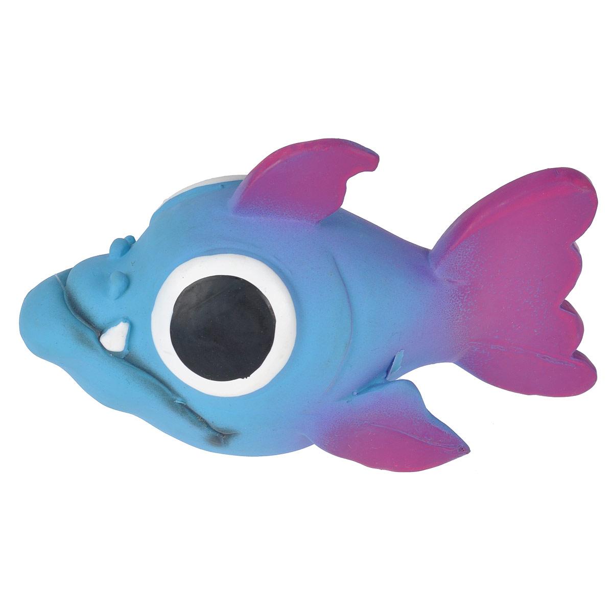 Игрушка для собак I.P.T.S. Рыбка16263/620875Игрушки для собак I.P.T.S. Рыбка изготовлена из латекса. Предназначена для игр с собаками разных возрастов. Такая игрушка привлечет внимание вашего любимца и не оставит его равнодушным. Длина: 14 см.