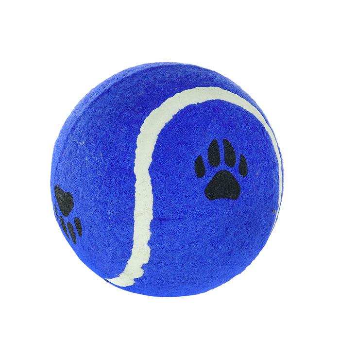 Игрушка для собак I.P.T.S. Мячик теннисный с отпечатками лап, цвет: синий, диаметр 10 см16211/625596Игрушка для собак I.P.T.S. Мячик теннисный с отпечатками лап изготовлена из прочной цветной резины с ворсистой поверхностью в виде реального теннисного мяча с отпечатками лап. Предназначена для игр с собакой любого возраста. Такая игрушка привлечет внимание вашего любимца и не оставит его равнодушным. Диаметр: 10 см.