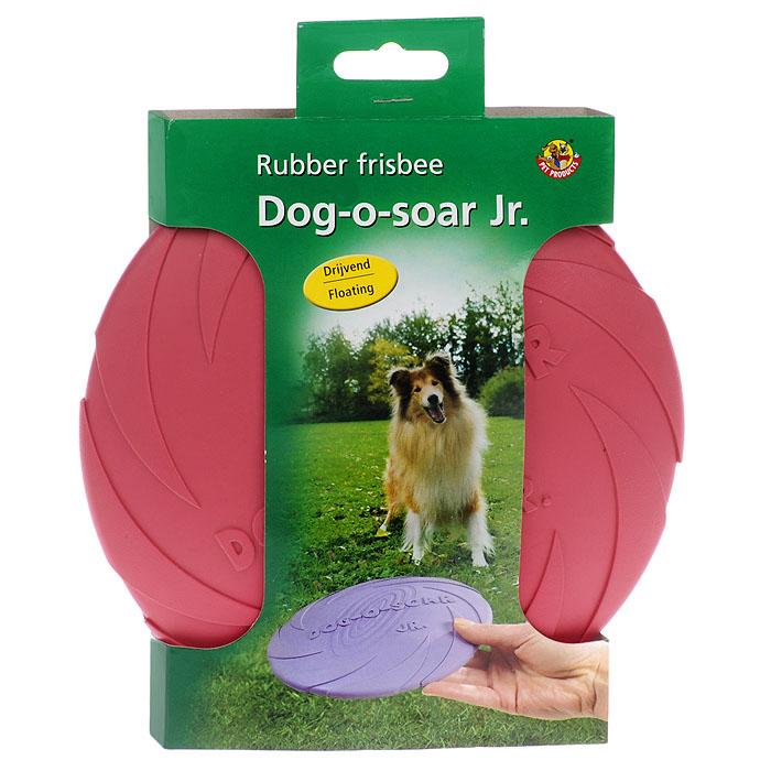 Игрушка для собак I.P.T.S. Фрисби, цвет: малиновый, диаметр 18 см625704Игрушка I.P.T.S. Фрисби, выполненная из резины, отлично подойдет для совместных игр хозяина и собаки. В отличие от пластиковых, такая Фрисби не образует острых зазубрин и трещин, способных повредить десны питомца. Совместные игры укрепляют взаимоотношение и понимание. Давая новую игрушку вашему питомцу, не оставляйте животное без присмотра, не убедившись, что собака не может разгрызть данную игрушку. Диаметр: 18 см.
