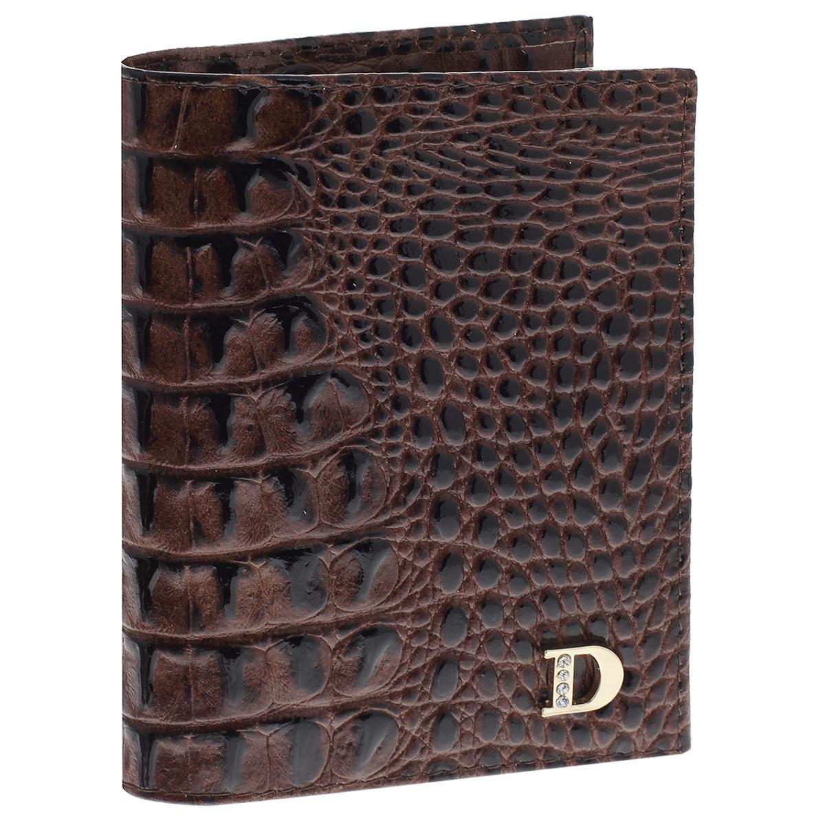 Бумажник водителя женский Dimanche Loricata Brun, цвет: коричневый. 464