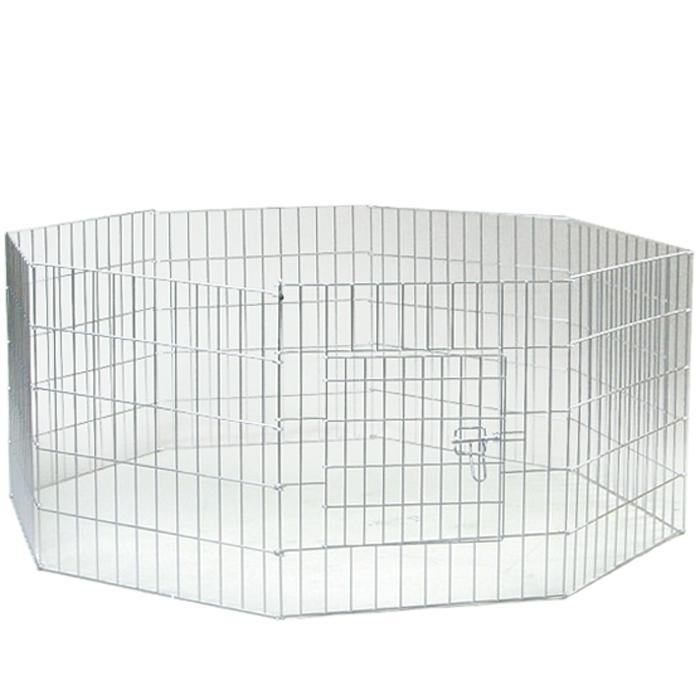 Клетка для щенков I.P.T.S., восьмиугольная, 60 см х 63 см16140/0715760Удобная восьмиугольная клетка I.P.T.S. предназначена для щенков. Идеально подходит для содержания щенков во время проведения выставки. Клетка выполнена из стальной проволоки. Оснащена дверцей, которая надежно закрывается на замок.
