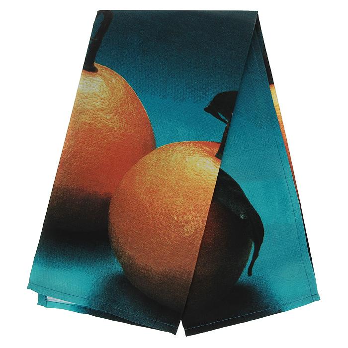 Полотенце кухонное Коллекция Апельсин, 50 х 70 смПТФ-2/гПолотенце Коллекция, выполненное из полиэстера и хлопка, оформлено изображением апельсинов. Полотенце предназначено для использования на кухне и в столовой. С помощью специальной петельки полотенце можно вешать на крючок. Полотенце Коллекция Апельсин - отличный вариант для практичной и современной хозяйки.