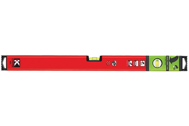 Уровень магнитный Kapro PlumbSite Genesis, 2 колбы, 60 см781-40-60РМУровень магнитный Kapro PlumbSite Genesis используется при необходимости контроля горизонтальных и вертикальных плоскостей. Легкий металлический корпус уровня обеспечивает долгий срок эксплуатации. Оснащен 2 колбами. Имеется магнит для фиксации на железном покрытии.