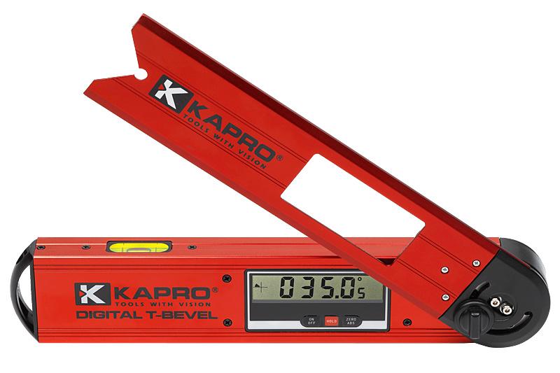 Угломер электронный Kapro992Электронный угломер Kapro предназначен для измерения углов. Может быть использован при проведении строительных, плотницких, отделочных работ, в производстве и пр. Возможно изменение величины угла с возможностью фиксации для маркировки на поверхности. Угломер оснащен цифровым дисплеем с автоматическим переворачиванием шкалы. Корпус выполнен из алюминия. Питается от батарейки CR2032 (входит в комплект).