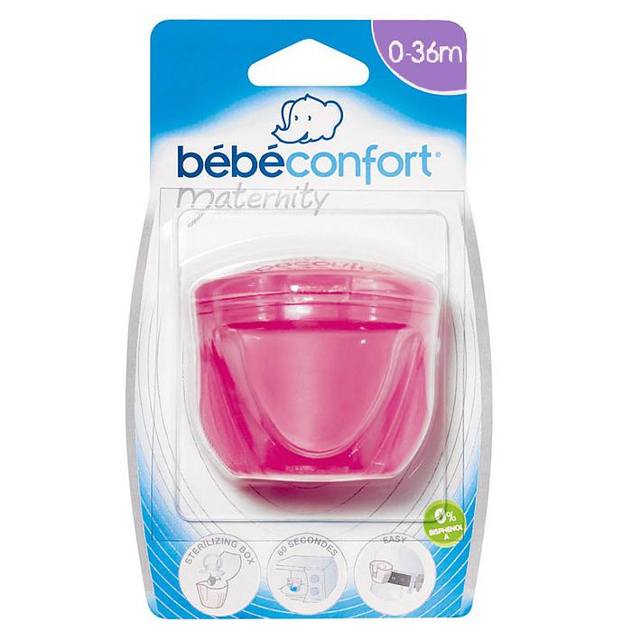 Футляр для пустышки и соски Bebe Confort, цвет: розовый