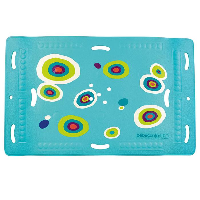 Коврик для ванночки Bebe Confort, нескользящий с термоиндикатором, 27 см х 36 см30319100Нескользящий коврик для ванной Bebe Confort с термоиндикатором. Коврик выполнен из ПВХ имеет нескользящую поверхность и присоски, что не даст малышу поскользнуться в большой ванной. Термоиндикатор становится темно-синим, указывая на идеальную для купания температуру воды 35 градусов, и меняет свой цвет, когда температура становится выше. Перфорированная поверхность не позволяет воде застаиваться.
