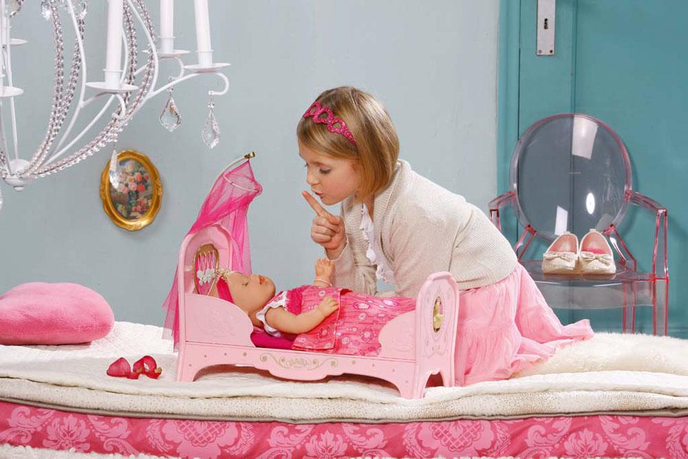 Baby Born Интерактивная кроватка для куклы