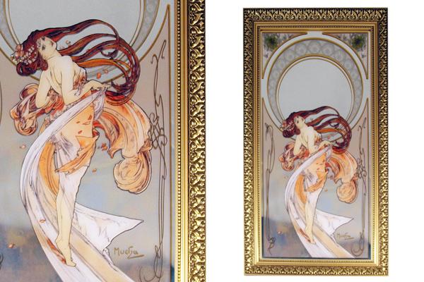 Картина Танец (зеркальная)GO67002394ALФарфор
