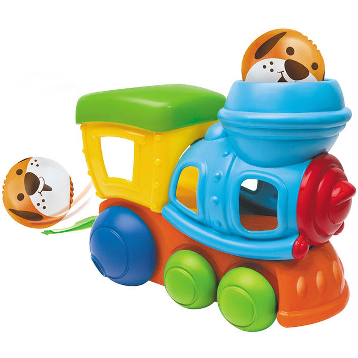 Развивающая игрушка Bkids «Забавный паровозик»