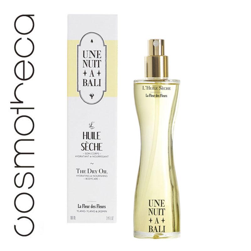 Une Nuit A Bali Масло для тела Huile Seche, сухое, 100 млUNABFFHSEСухое масло для тела увлажняет и глубоко питает кожу, не оставляя на ней жирной пленки. Это уникальное сочетание витаминов, минералов, антиоксидантов и жирных кислот ОМЕГА-3, -6, -9, которые защищают кожу от обезвоживания и замедляют ее старение. Масло восстанавливает и улучшает даже очень сухую кожу. Сухое масло – идеальный продукт для ухода не только за телом, но и за кожей лица. Нанесите небольшое количество масла на лицо и массируйте до тех пор, пока оно полностью не впитается. Особое внимание при массаже уделите контуру глаз. Товар сертифицирован.