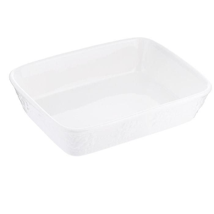 Лоток для заливного Gumertal Стиль жизни, цвет: белый, 18,5 х 14,5 см574-508Лоток для заливного Gumertal Стиль жизни выполнен из высококачественного фарфора. Лоток может использоваться как емкость для хранения пищевых продуктов, а также в качестве салатника или посуды для сервировки стола. Лоток Gumertal Стиль жизни станет достойным дополнением к вашему кухонному инвентарю. Изделия можно использовать в СВЧ-печи, духовых шкафах, посудомоечной машине и холодильнике.