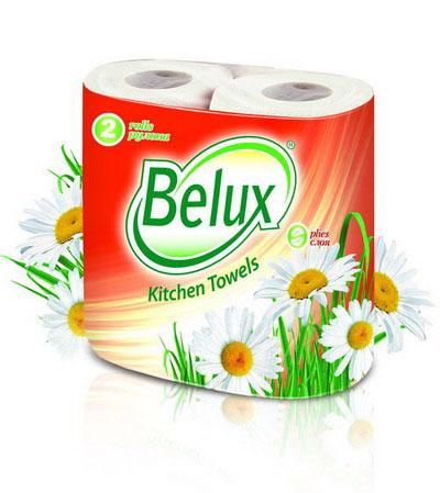 Полотенца кухонные бумажные Belux, двухслойные, цвет: белый, 2 рулона36294Кухонные бумажные полотенца Belux прекрасно подойдут для использования на кухне. В комплекте - 2 рулона двухслойных полотенец с тиснением. Особенности полотенец: - не оставляют разводов на гладких и стеклянных поверхностях, - идеально впитывают влагу, - отлично впитывают жир, - подходят для ухода за домашними животными, бытовой техникой, автомобилем. Полотенца мягкие, но в тоже время прочные, с отрывом по линии перфорации.