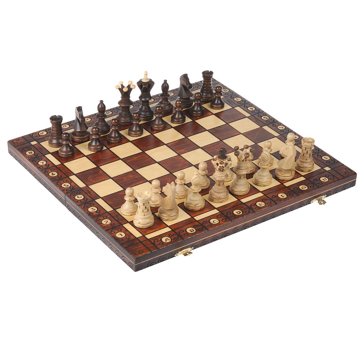 Шахматы Wegiel Амбассадор, размер: 54х27х6 см. 30163016