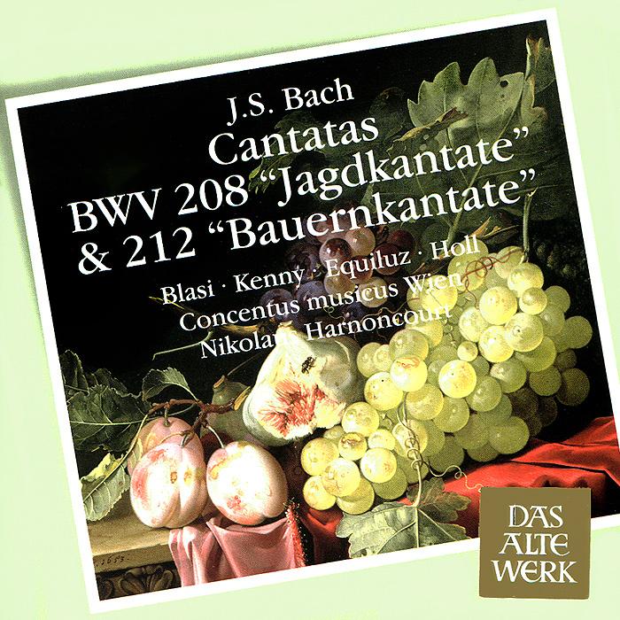 Nikolaus Harnoncourt, Concentus Musicus Wien. Bach. Cantatas BWV 208 & 212 (SACD)