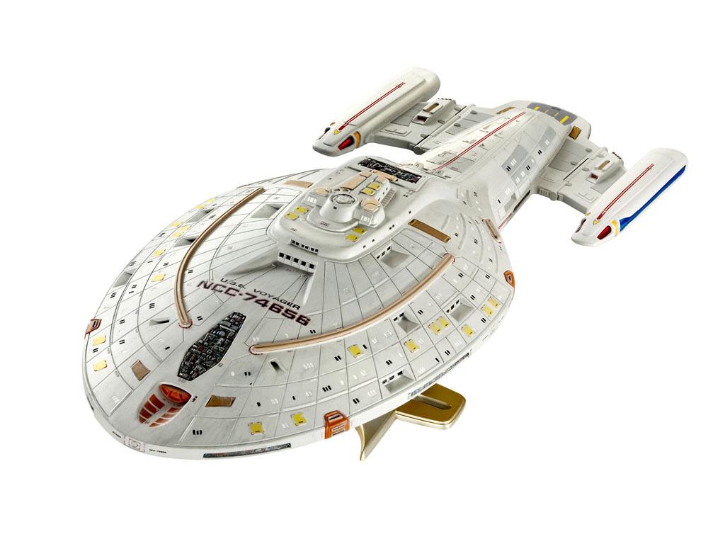 Набор для сборки Космческий корабль Star Trek U,S,S, Voyager