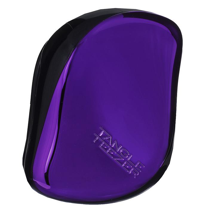 Tangle Teezer Расческа для волос Compact Styler. Purple DazzleCS-PC-010414Профессиональная распутывающая расческа идеально подходит для всех типов волос. Оригинальная форма зубчиков обеспечивает двойное действие и позволяет быстро и безболезненно расчесать влажные и сухие волосы. Благодаря эргономичному дизайну расческу удобно держать в руках, не опасаясь выскальзывания. Товар сертифицирован.