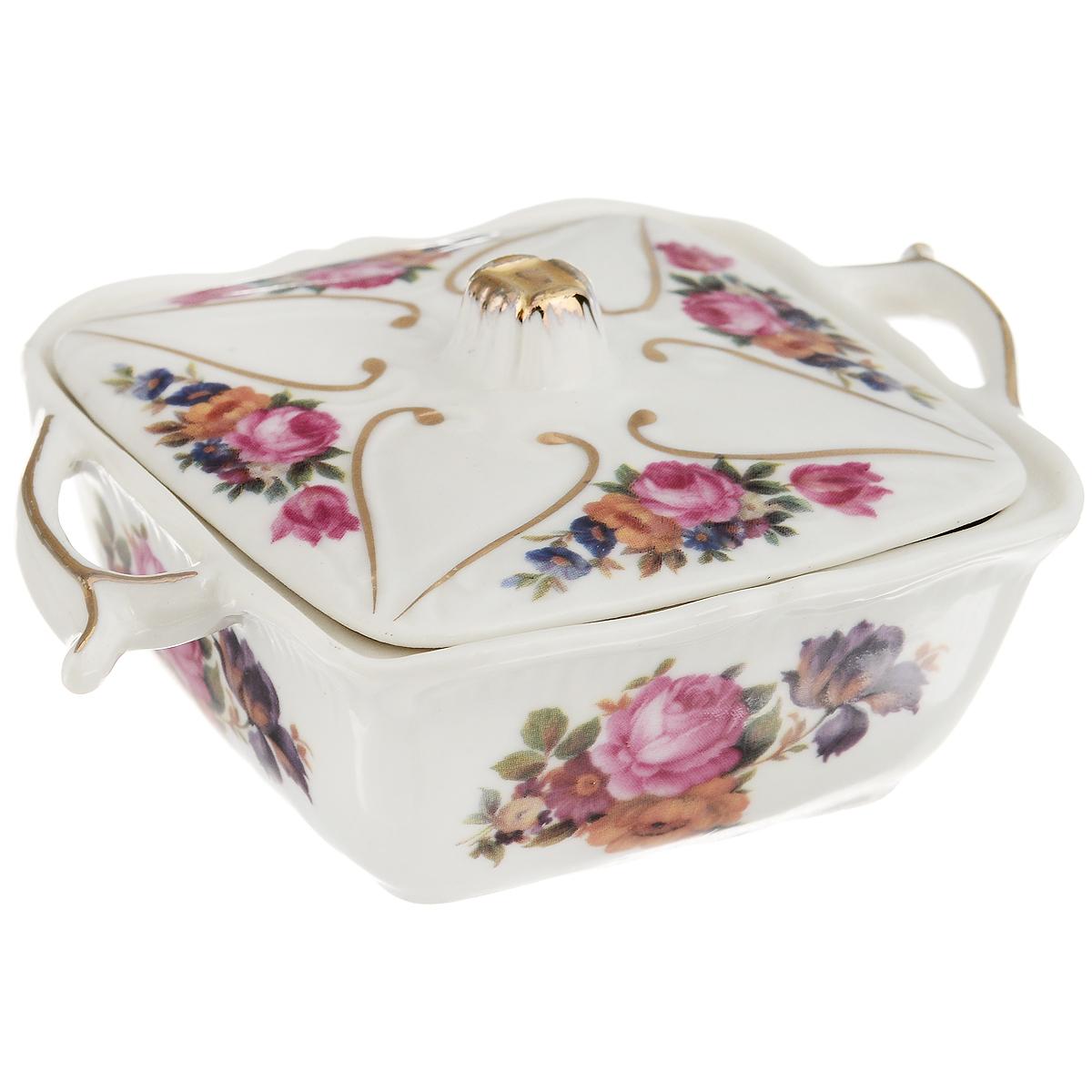 Шкатулка для швейных принадлежностей Besko Флорита, 7,5 см х 10 см х 3 см528-324