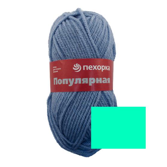 Пряжа для вязания Пехорка Популярная, цвет: изумруд (335), 133 м, 100 г, 10 шт360031_335_335-ИзумрудПряжа для вязания Пехорка Популярная изготовлена из 50% шерсти и 50% акрила. Эта полушерстяная классическая пряжа подходит для ручного вязания. Пряжа предназначена для толстых зимних свитеров, джемперов, шапок, шарфов. Импортная полутонкая шерсть придает изделию из нее следующие свойства: прочность, упругость, высокую износостойкость и теплоизоляционные качества. Благодаря шерсти в составе пряжи, изделия получаются очень теплыми, а процент акрила придает практичности, поэтому вещи из этой пряжи не деформируются после стирки и в процессе носки. Рекомендованы спицы № 6. Комплектация: 10 мотков. Состав: 50% шерсть, 45% акрил, 5% акрил высокообъемный.