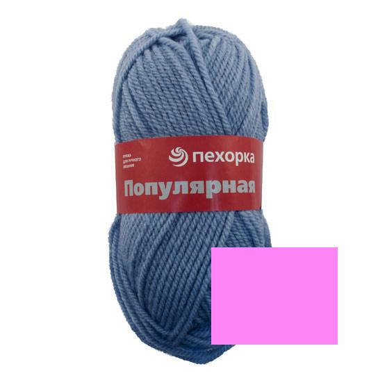 Пряжа для вязания Пехорка Популярная, цвет: светлая фуксия (582), 133 м, 100 г, 10 шт360031_582_582-Св.фуксияПряжа для вязания Пехорка Популярная изготовлена из 50% шерсти и 50% акрила. Эта полушерстяная классическая пряжа подходит для ручного вязания. Пряжа предназначена для толстых зимних свитеров, джемперов, шапок, шарфов. Импортная полутонкая шерсть придает изделию из нее следующие свойства: прочность, упругость, высокую износостойкость и теплоизоляционные качества. Благодаря шерсти в составе пряжи, изделия получаются очень теплыми, а процент акрила придает практичности, поэтому вещи из этой пряжи не деформируются после стирки и в процессе носки. Рекомендованы спицы № 6. Комплектация: 10 мотков. Состав: 50% шерсть, 45% акрил, 5% акрил высокообъемный.