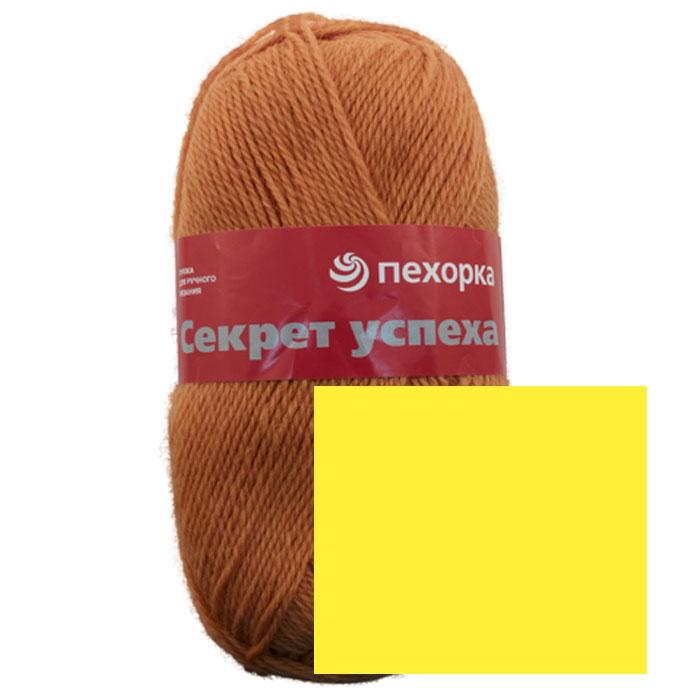 Пряжа для вязания Пехорка Секрет успеха, цвет: подсолнух (118), 250 м, 100 г, 10 шт360032_118_118-ПодсолнухПряжа для вязания Пехорка Секрет успеха изготовлена из 100% шерсти. Пряжа теплая, слегка бархатистая, настолько мягкая, на сколько может быть натуральная шерсть. Предназначена для вязания вещей на осень и зиму, так как отлично сохраняет тепло, но не дает коже потеть. Может быть рекомендована для вязания шарфов, шапочек, джемперов и свитеров. Можно вязать детям, но как верхний слой в одежде. Чистошерстяная пряжа, зарекомендовавшая себя временем, пользуется успехом у покупателей. Пряжа остается гарантией стиля и качества, изделия из нее мягкие, теплые, комфортные. С такой пряжей для ручного вязания вы сможете связать своими руками необычные и красивые вещи. Рекомендуются спицы для вязания №4. Комплектация: 10 мотков. Состав: 100% шерсть.