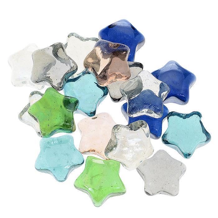 Набор декоративных камней Звезда, 300 г812-009Набор декоративных камней Звезда, выполненный из стекла, замечательно подойдет для украшения вашего дома. Его можно использовать для создания индивидуального интерьера, а так же как наполнитель декоративных ваз. Декоративные камни создают чувство уюта и улучшают настроение. Материал: стекло. Вес: 300 г.