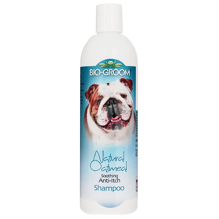 """Шампунь для кошек и собак Bio-Groom """"Natural Oatmeal"""", успокаивающий против зуда, 355 мл"""
