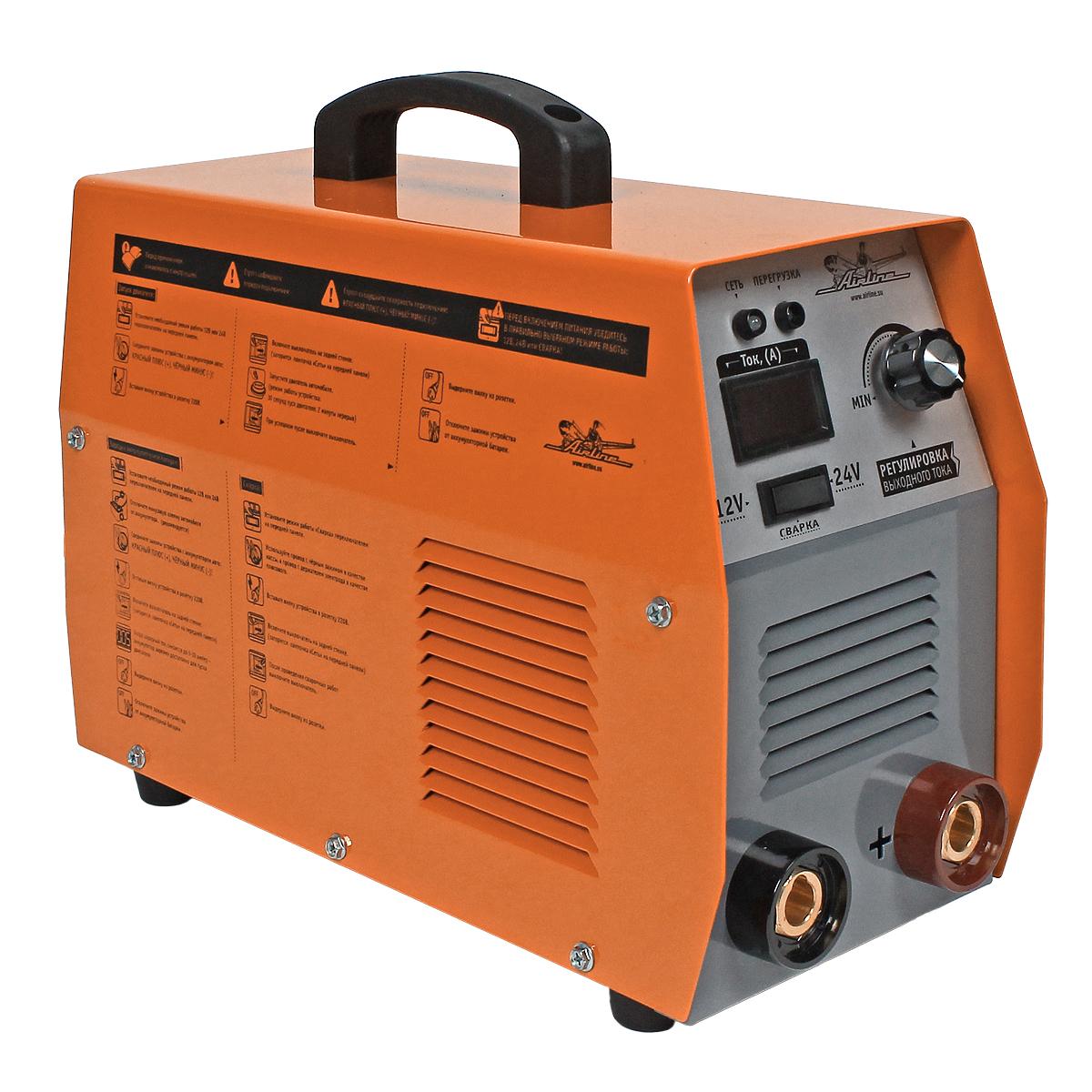 Пускозарядное устройство-сварочный аппарат Airline, цвет: оранжевый AJS-W-03