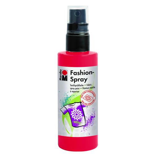 Краска-спрей для текстиля Marabu Fashion Spray, цвет: red / красный (232), 100 мл546630_232Краска-спрей для текстиля Marabu Fashion Spray, изготовлена на водной основе, подходит для светлой, очищенной от аппретуры и смягчителя ткани, а также для натуральных тканей, вискозы, смешанных тканей с содержанием синтетических волокон до 20%. Закрепляется краска-спрей с помощью утюга. С краской для текстиля Marabu Fashion Spray вы сможете оригинально и красиво украсить любой текстиль. Время высыхания 6 часов. Рекомендуется стирать и гладить с изнаночной стороны.