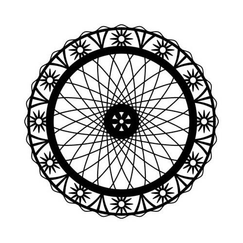Трафарет Marabu Wheel Of Flowers, диаметр 28 см546632_002Трафарет Marabu Wheel Of Flowers изготовлен из полиэстера с применением лазерной обработки. Изделие выполнено в виде колеса, декорированного цветочным узором. Трафарет - это возможность создать профессиональный декор своими руками без художественных талантов, профессиональных навыков или привлечения специалистов. Трафаретная роспись доступна каждому, экономит ваши средства и дарит много положительных эмоций. Что бы вы ни затеяли: косметический ремонт своими силами или большой проект по декору целого дома, трафареты вам обязательно пригодятся. Добавьте оригинальность вашему интерьеру с помощью трафаретов. Оригинальное исполнение внесет изысканность в дизайн.
