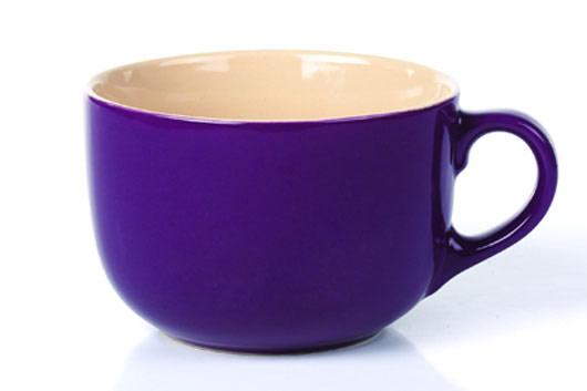 Бульонница Shenzhen Xin Tianli, цвет: фиолетовый, 600 млTLS-51-4Бульонница Shenzhen Xin Tianli, изготовленная из высококачественной керамики, прекрасно впишется в интерьер вашей кухни и станет достойным дополнением к кухонному инвентарю. Такая бульонница не только украсит ваш кухонный стол и подчеркнет прекрасный вкус хозяйки, но и станет отличным подарком.