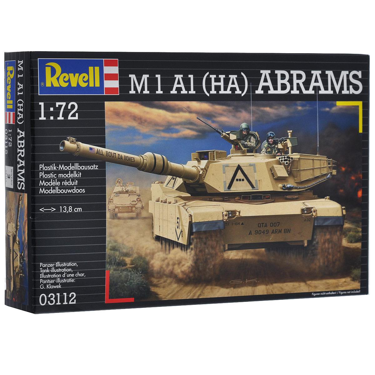 Сборная модель Revell Танк M1 A1 (HA) Abrams3112Сборная модель Revell Танк M1 A1 (HA) Abrams поможет вам и вашему ребенку придумать увлекательное занятие на долгое время. Набор включает в себя 113 пластиковых элементов, из которых можно собрать достоверную уменьшенную копию одноименного американского танка. Назван в честь генерала танковых войск Крейтона Абрамса – участника Второй мировой и войны во Вьетнаме. Серийно танк производится с 1980 года. Всего было выпущено около 10 тысяч экземпляров. M1A1 активно применялись во время войны в Персидском заливе, Ираке и Афганистане. Также в наборе схематичная инструкция по сборке. Процесс сборки развивает интеллектуальные и инструментальные способности, воображение и конструктивное мышление, а также прививает практические навыки работы со схемами и чертежами. Уровень сложности: 3. УВАЖАЕМЫЕ КЛИЕНТЫ! Обращаем ваше внимание на тот факт, что элементы для сборки не покрашены. Клей и краски в комплект не входят.
