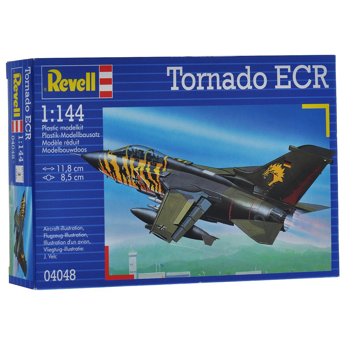 Сборная модель Revell Истребитель Tornado ECR, 63 элемента4048Сборная модель Revell Истребитель Tornado ECR поможет вам и вашему ребенку придумать увлекательное занятие на долгое время. Набор включает в себя 63 пластиковых элемента, из которых можно собрать достоверную уменьшенную копию одноименного истребителя. Также в наборе схематичная инструкция по сборке. Процесс сборки развивает интеллектуальные и инструментальные способности, воображение и конструктивное мышление, а также прививает практические навыки работы со схемами и чертежами. Уровень сложности: 3. УВАЖАЕМЫЕ КЛИЕНТЫ! Обращаем ваше внимание на тот факт, что элементы для сборки не покрашены. Клей и краски в комплект не входят.