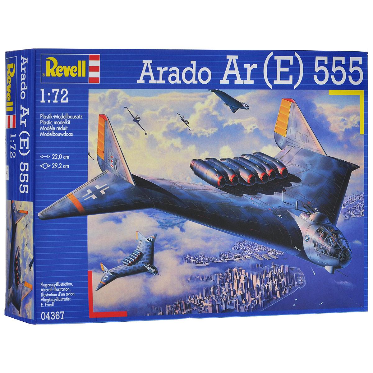 """Сборная модель Revell """"Бомбардировщик Arado Ar (E) 555"""""""