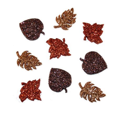 Пуговицы декоративные Dress It Up Осенние листья, 9 шт. 77022327702232