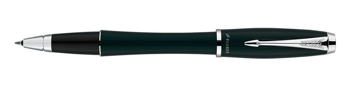 Роллерная ручка Urban Цвет: London Cab Black CTS0850490Материал: Лакированный латунный корпус с электролитическим покрытием из эпоксидной смолы с хромированными деталями дизайна.; цвет: черный