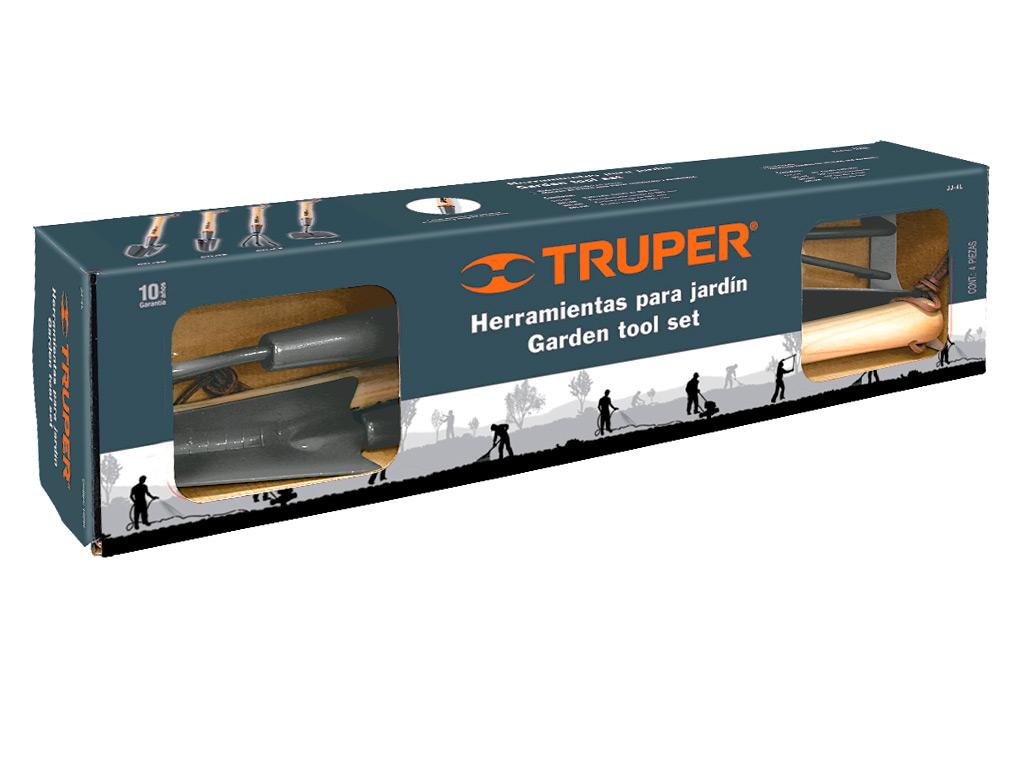Набор садового инструмента Truper, длинный, 4 предмета