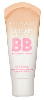 "Maybelline New York BB Крем для лица ""Dream Satin"", увлажняющий, SPF 30, светлый, 30 мл ( B1983202 )"