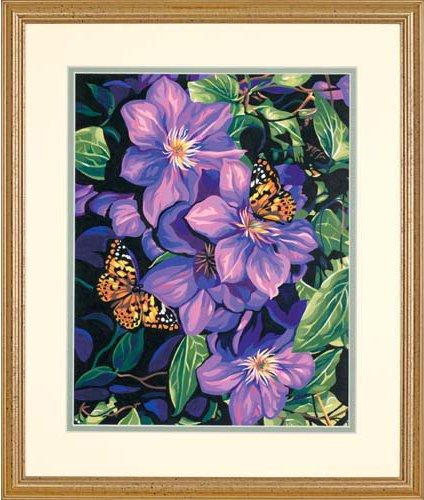 Набор для раскрашивания Paint Works Клематис и бабочки, 27 х 35 см DMS-91403653618Набор для раскрашивания Paint Works Клематис и бабочки поможет вам создать свой личный шедевр - красивую картину, нарисованную акриловыми красками. С таким набором очень легко самостоятельно написать потрясающую картину, даже если вы этого никогда не делали. С помощью инструкции закрашивайте фоновые области по цветовым номерам. Набор для раскрашивания прекрасно подойдет как для школьников, так и для взрослых. В набор входят: - акриловые краски (12 цветов), - фактурный картон с нанесенным контуром рисунка, - кисть, - инструкция на русском языке. Размер готовой картины: 27 см х 35 см. УВАЖАЕМЫЕ КЛИЕНТЫ! Обращаем ваше внимание, на тот факт, что рамка в комплект не входит, а служит для визуального восприятия товара.