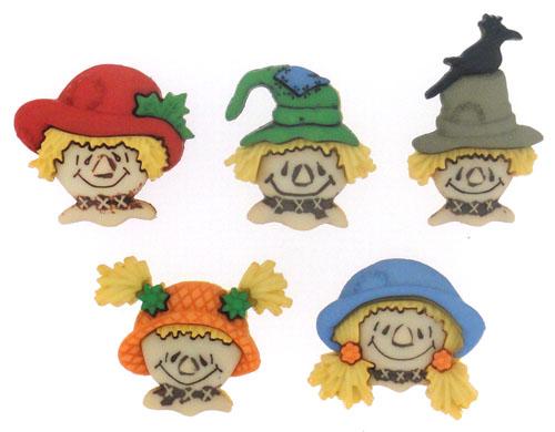 Пуговицы декоративные Dress It Up Чучело, 5 шт. 77063157706315Набор Dress It Up Чучело состоит из 5 декоративных пуговиц, выполненных из пластика в форме чучел. Такие пуговицы подходят для любых видов творчества: скрапбукинга, декорирования, шитья, изготовления кукол, а также для оформления одежды. С их помощью вы сможете украсить открытку, фотографию, альбом, подарок и другие предметы ручной работы. Пуговицы разных цветов имеют оригинальный и яркий дизайн.