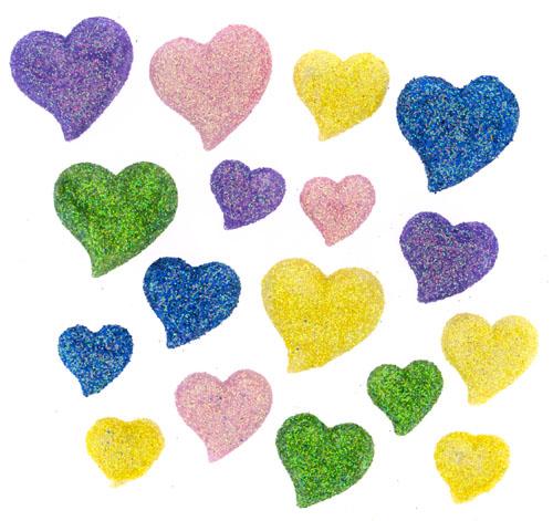Пуговицы декоративные Dress It Up Акварельные сердца, 15 шт. 77063447706344Набор Dress It Up Акварельные сердца состоит из 15 декоративных пуговиц, выполненных из пластика в форме сердец. Пуговицы декорированы блестками. Такие пуговицы подходят для любых видов творчества: скрапбукинга, декорирования, шитья, изготовления кукол, а также для оформления одежды. С их помощью вы сможете украсить открытку, фотографию, альбом, подарок и другие предметы ручной работы. Пуговицы разных цветов имеют оригинальный и яркий дизайн.