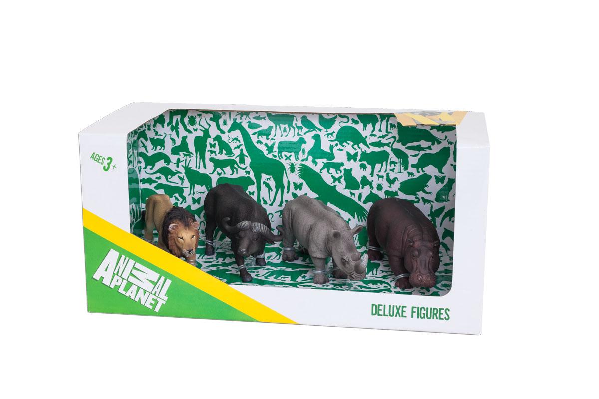 Mojo Африка набор игровых фигурок Animal Planet, средний 4шт387313Фигурки MOJO знакомят детей с окружающим миром, развивают творческие способности и расширяют возможности ролевых игр.Фигурка изготовлена из полимерного материала, не токсична и не вызывает аллергию.