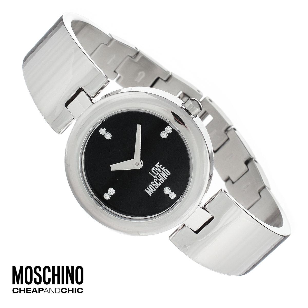 Часы женские наручные Moschino, цвет: серебристый. MW0422MW0422Наручные часы от известного итальянского бренда Moschino - это не только стильный и функциональный аксессуар, но и современные технологи, сочетающиеся с экстравагантным дизайном и индивидуальностью. Часы Moschino оснащены кварцевым механизмом. Корпус выполнен из высококачественной нержавеющей стали. Циферблат оформлен отметками из страз, надписью Love Moschino защищен минеральным стеклом. Часы имеют две стрелки - часовую и минутную. Браслет часов выполнен из нержавеющей стали и оснащен ювелирной застежкой. Часы упакованы в фирменную металлическую коробку с логотипом бренда. Часы Moschino благодаря своему уникальному дизайну отличаются от часов других марок своеобразными циферблатами, функциональностью, а также набором уникальных технических свойств. Каждой модели присуща легкая экстравагантность, самобытность и, безусловно, великолепный вкус. Характеристики: Диаметр циферблата: 2,5 см. Размер корпуса: 3,3 см х 4 см х 0,7...
