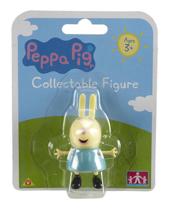 Фигурка Peppa Pig Любимый персонаж. Зайчик15555Пеппа - это веселая свинка из доброго, смешного и познавательного мультипликационного сериала Peppa Pig. Она играет с братиком Джорджем и своими друзьями, обожает прыгать в лужах, наряжаться. Каждая серия - это новое приключение свинки, которое несет полезные знания маленьким зрителям. А теперь они могут не только смотреть на этих забавных персонажей, но и играть с ними! Дети будут рады перевоплотиться в свинку Пеппу, маленького Джорджа, овечку Сьюзи или кролика Ребекку. Такая сюжетно-ролевая игра - настоящая школа жизни: это способ познания мира, приобретения новых навыков и развития творческого и аналитического мышления, улучшения памяти. Герои мультфильма наделены частично качествами людей, частично качествами животных. Они ходят в одежде, живут в домах, ездят на машинах, ходят на работу и в театр. Дети отмечают дни рождения, играют в парках, катаются на катках и занимаются всем, что присуще людям. В то же время свинки постоянно хрюкают, овечки блеют, а кошки мяукают. ...