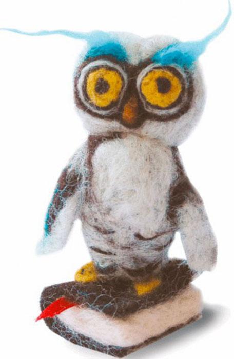 Набор для валяния Мудрая сова, 9 см х 4 см348736В наборе для валяния Мудрая сова есть все необходимое для создания собственного чуда: - шерсть для валяния (Новая Зеландия) - 7 цветов; - иглы для валяния - 2 шт; - лента Perramon & Badia (Испания) - 1 цвет; - цветная схема; - инструкция на русском языке. Работа, сделанная своими руками, создаст особый уют и атмосферу в доме и долгие годы будет радовать вас и ваших близких. Ведь вы выполните игрушку с любовью! Размер готового изделия: 9 см х 4 см.