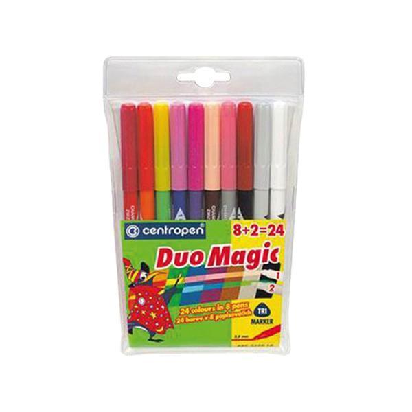 Набор перекрашивающих маркеров Duomagic,10 шт2599/10Характеристики: Длина маркера: 15,5 см. Диаметр наконечника: 3,5 мм. Ширина линии: 1,8 мм. Размер упаковки: 11,5 см х 19 см х 1 см.