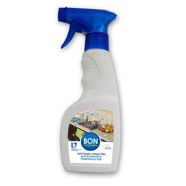 Чистящее средство для кухонных поверхностей Bon, 250 млBN-156-1Чистящее средство для кухонных поверхностей Bon эффективно удаляет жировые отложения со всех типов поверхностей на кухне. Обеспечивает антибактериальный эффект, уничтожая микроорганизмы и бактерии. Безопасно для окружающей среды, биологически перерабатывается более чем на 90%. Без запаха.