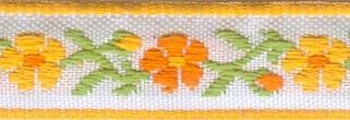 Тесьма декоративная Астра, цвет: желтый, ширина 1,3 см, длина 16,4 м. 7703258_37703258_3Декоративная тесьма Астра выполнена из жаккарда и оформлена оригинальным орнаментом. Такая тесьма идеально подойдет для оформления различных творческих работ таких, как скрапбукинг, аппликация, декор коробок и открыток и многое другое. Тесьма наивысшего качества и практична в использовании. Она станет незаменимом элементов в создании рукотворного шедевра. Ширина: 1,3 см. Длина: 16,4 м.
