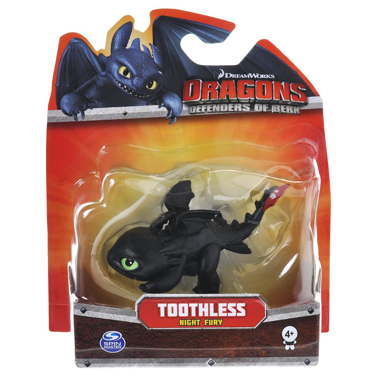 Фигурка Dragons Toothless (Night Fury). 66551_2006440466551_20064404Фигурка Dragons Toothless (Night Fury) непременно придется по душе вашему ребенку. Фигурка выполнена из безопасного материала в виде дракона Беззубика из мультфильма Как приручить дракона. У фигурки двигаются голова и лапки, что позволит придавать ей различные позы. С такой фигуркой ваш ребенок окунется в гущи событий мультфильма, будет проигрывать любимые сцены или придумывать свои истории!